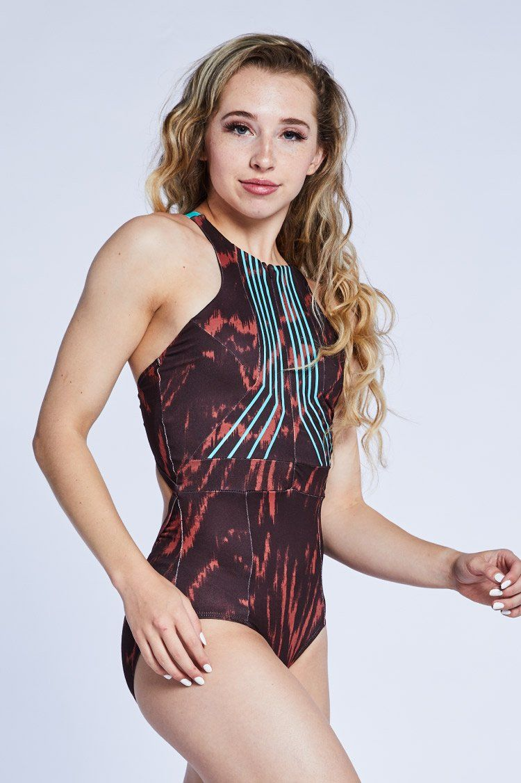 River Leo: Ruby Tiger Fitted Wear - One Pieces - Leotards Jo+Jax