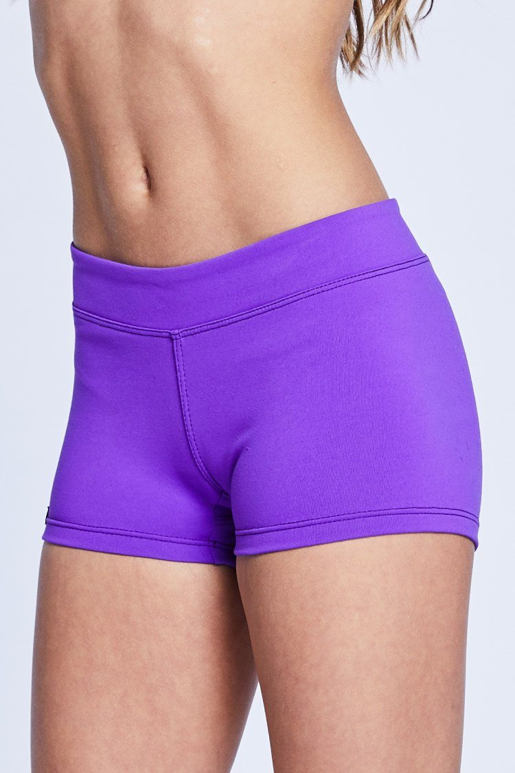 Shorties Fitted Wear - Bottoms - Shorts KH Purple Large Adult