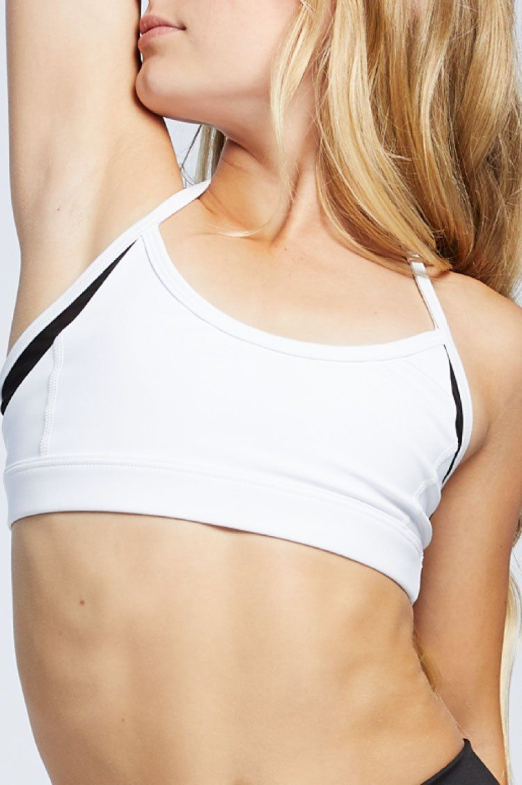 Solo Top Fitted Wear - Tops - Bra Tops Jo+Jax White Large Adult