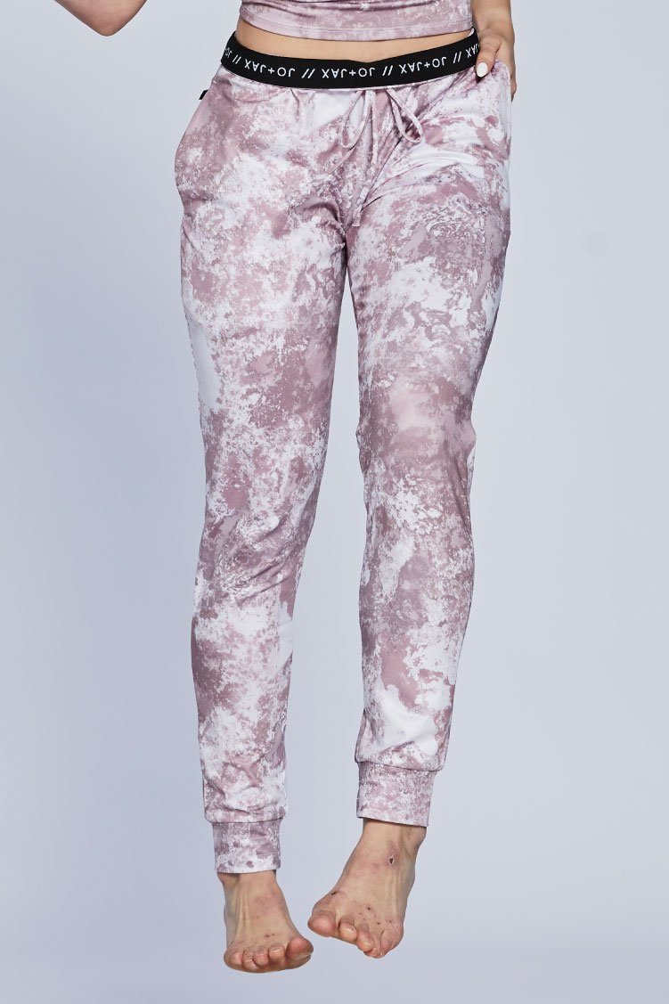 Spectra Joggers To & From - Bottoms - Pants Jo+Jax Pink Champagne XX-Small Adult