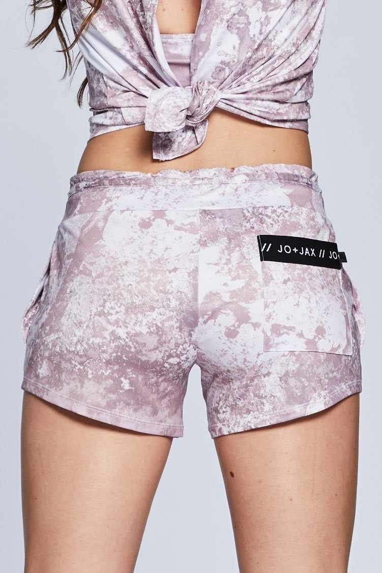 Spectra Lounge Shorts To & From - Bottoms - Shorts Jo+Jax Pink Champagne XX-Small Adult