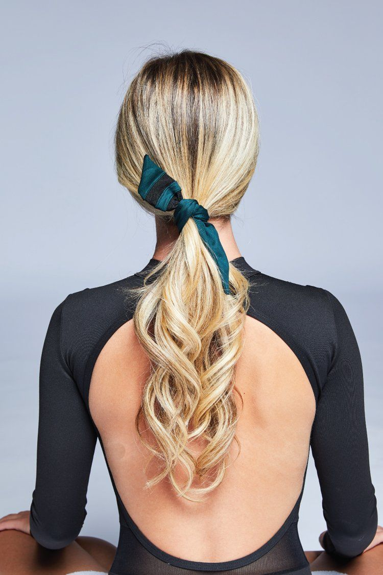 Triad Tie Scrunchie Accessories - Wearables - Scrunchies Jo+Jax