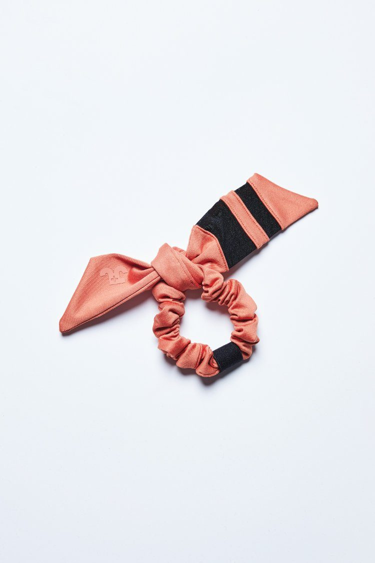 Triad Tie Scrunchie Accessories - Wearables - Scrunchies Jo+Jax Copper/ Black One Size