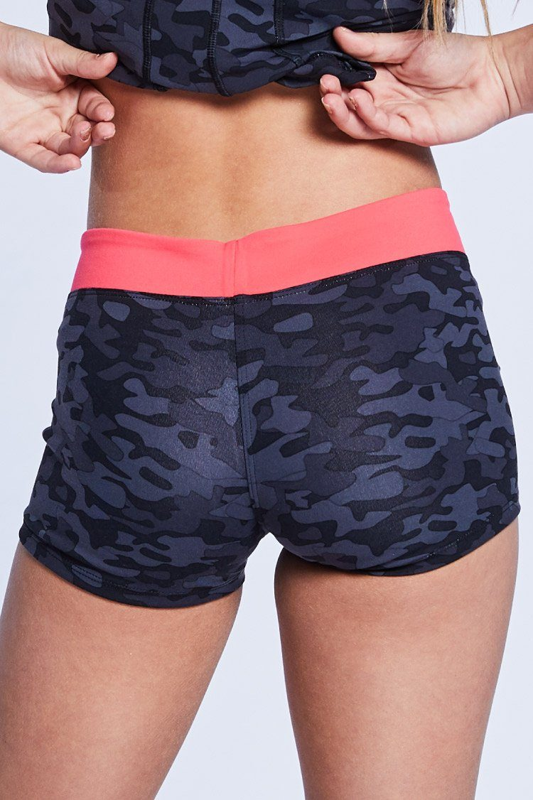 Two Tone Shorties Fitted Wear - Bottoms - Shorts BT