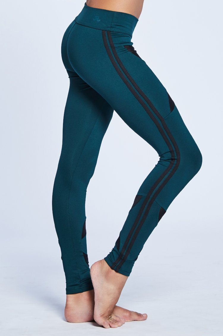 Victory Leggings Fitted Wear - Bottoms - Leggings Jo+Jax Jungle/Black Youth Small
