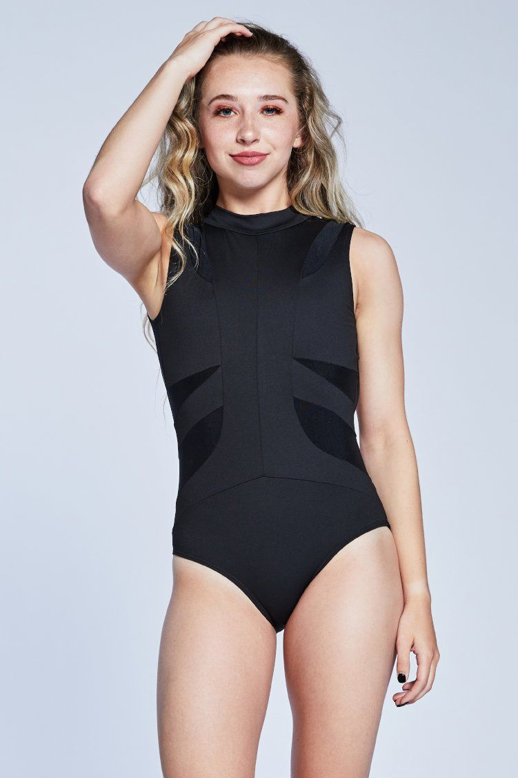 Victory Leo Fitted Wear - One Pieces - Leotards Jo+Jax Black XX-Small Adult