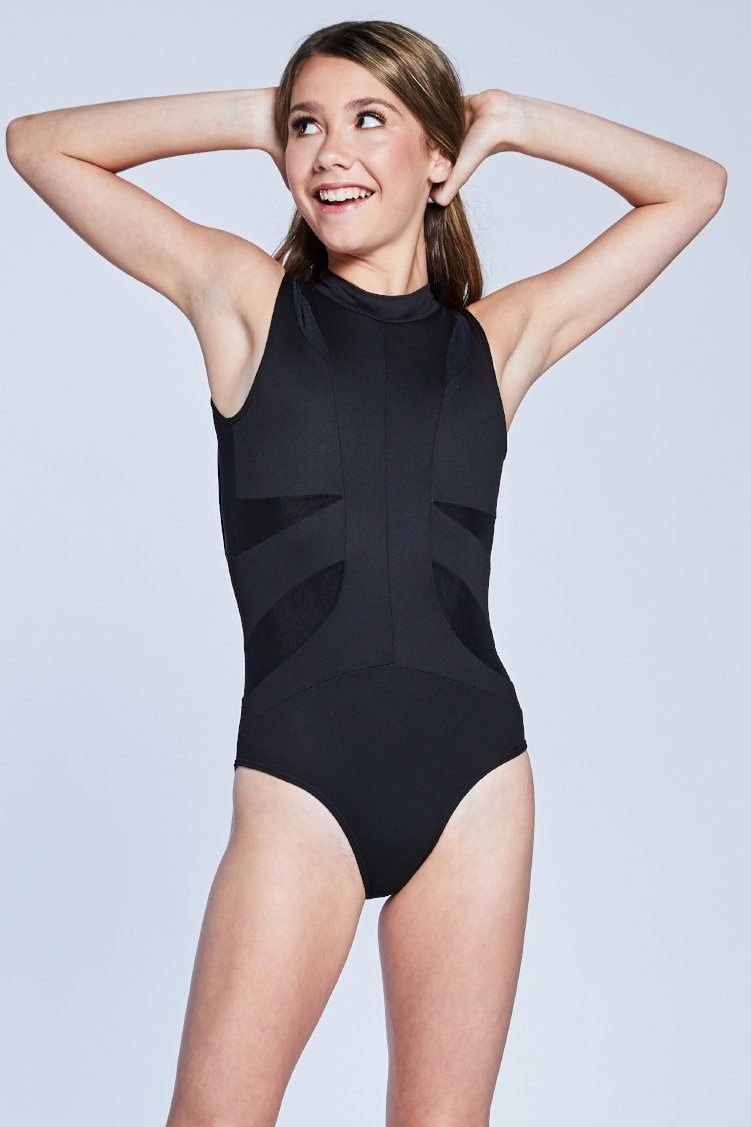 Victory Leo Fitted Wear - One Pieces - Leotards Jo+Jax Black Youth Small