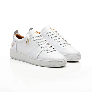 White Oliver Soho Low Top Trainers