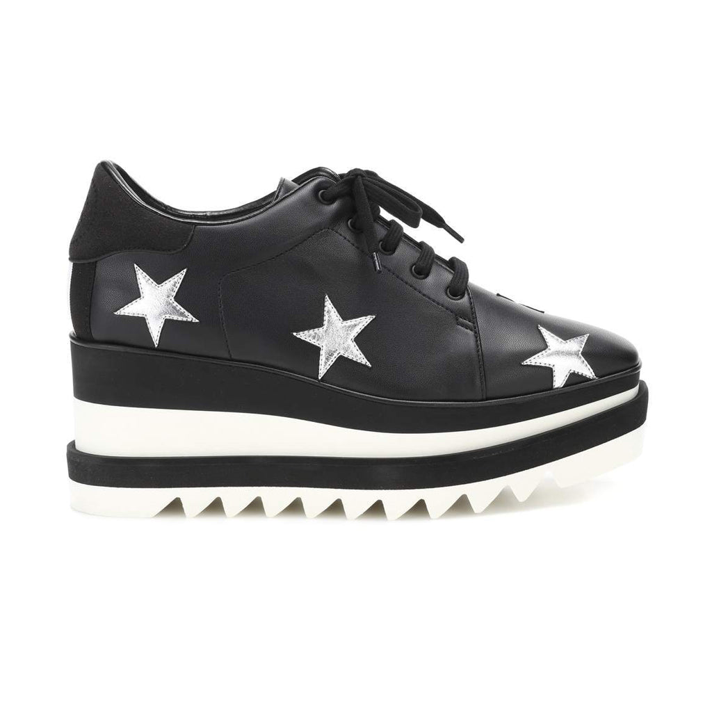 WMN Stella McCartney Elyse Sneakers Black Foil Stars
