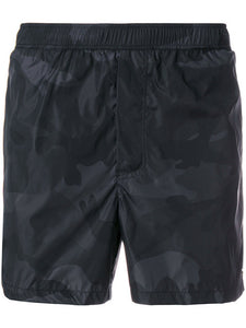 Black Camo Valentino Swim Shorts