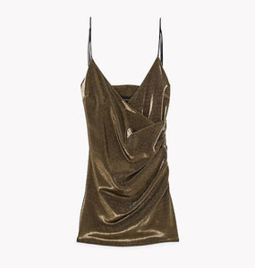 WMN Gold Patrizia Pepe Dress