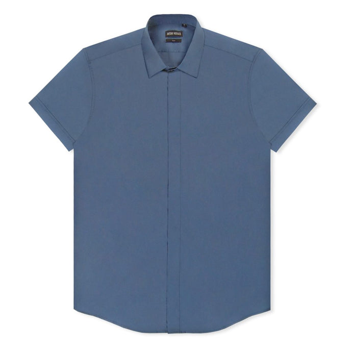 Ottanio Plain Short Sleeve Shirt