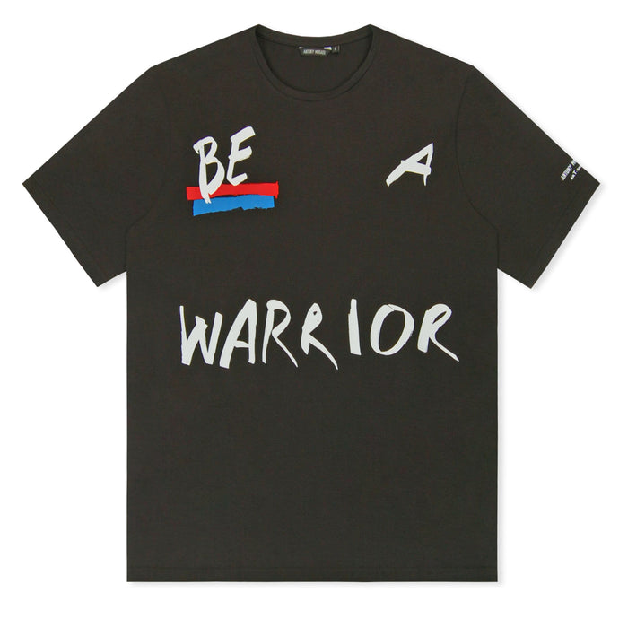 Black Limited Edition Slogan Printed T-Shirt