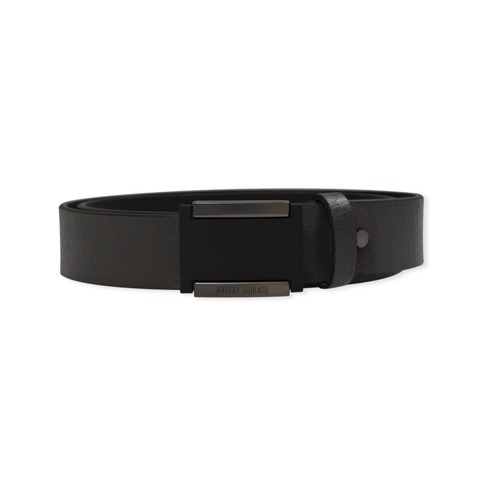 London Grey Tumbled Leather Antony Morato Belt
