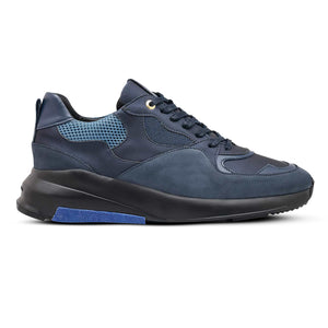 Navy Android Homme Malibu Mesh Runners