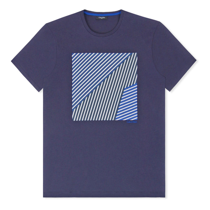 Navy Jamnas Printed T-Shirt
