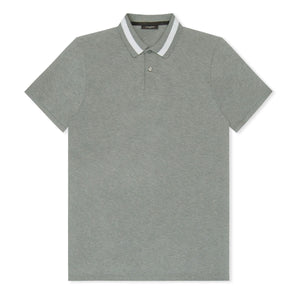 Light Grey Jall Texture Polo