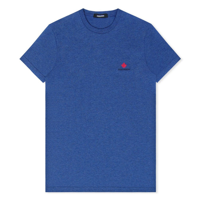 Blue Maple Leaf T-Shirt
