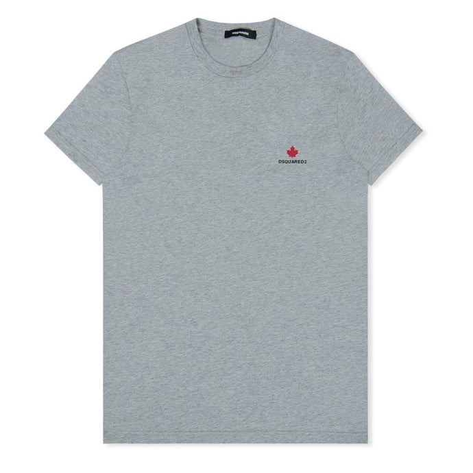Grey Maple Leaf T-Shirt