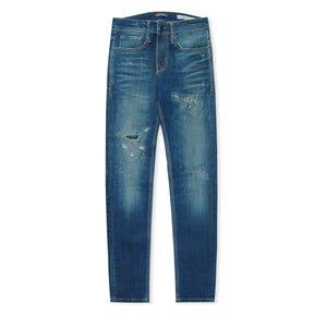 Faded Blue Antony Morato Ripped Ozzy Jeans