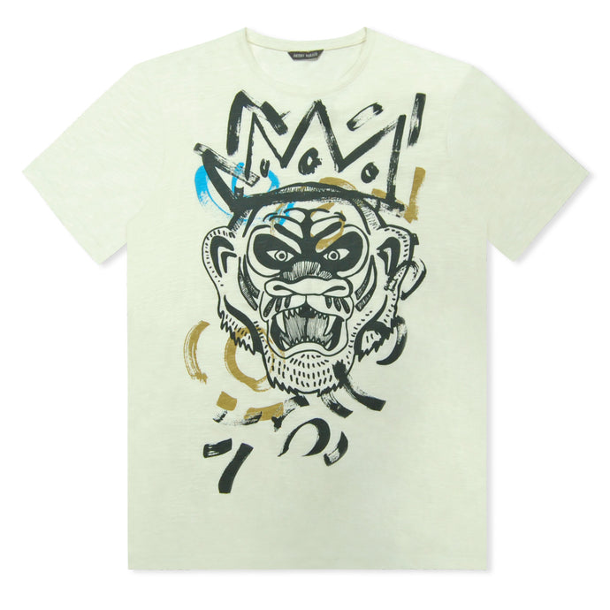 Off White Antony Morato Painted Print T-Shirt