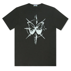 Black Untitled Atelier Butterfly T-Shirt