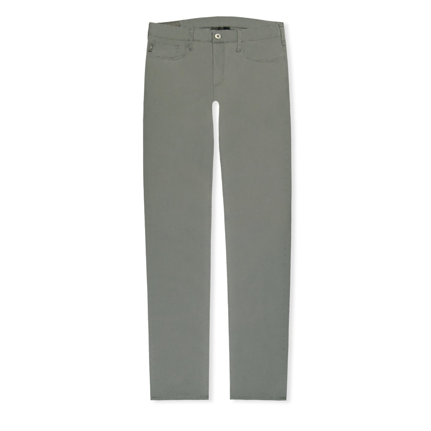 Grey Emporio Armani J06 Canvas Trousers