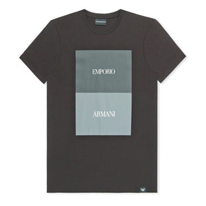 Black Emporio Armani Block T-Shirt
