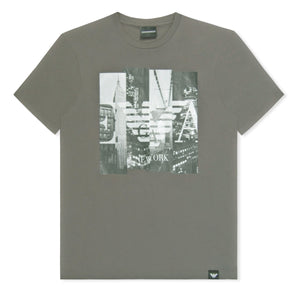 Grey Emporio Armani City Phone T-Shirt