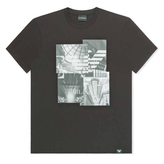 Black Emporio Armani City Phone T-Shirt