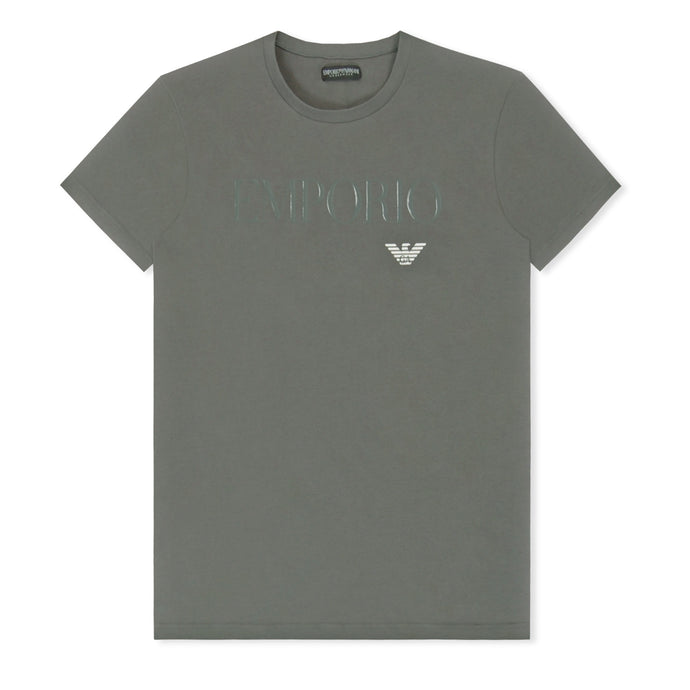 Grey Megalogo Crew Neck