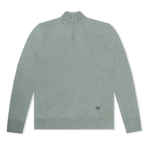 Grey Emporio Armani Knitted Jumper