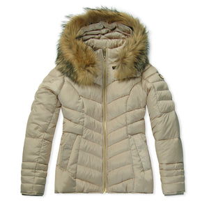 WMN Froccella Sand NAT Bubble Jacket