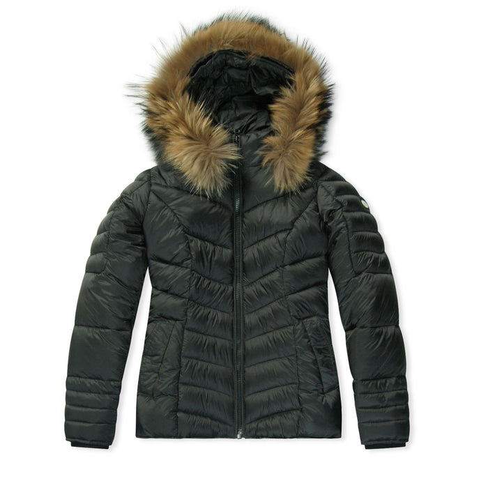 WMN Froccella Black NAT Bubble Jacket