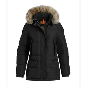 WMN Parajumpers Heather Mid Length Jacket Black
