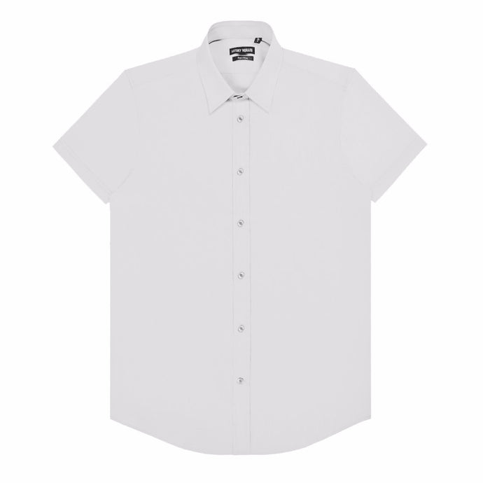 White Antony Morato Super Slim Shirt