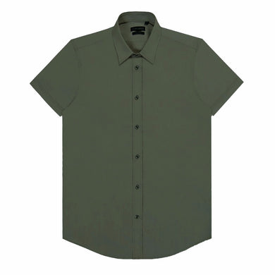 Army Green Antony Morato Super Slim Shirt