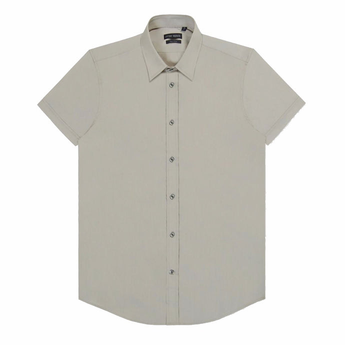 Frost Grey Antony Morato Super Slim Shirt