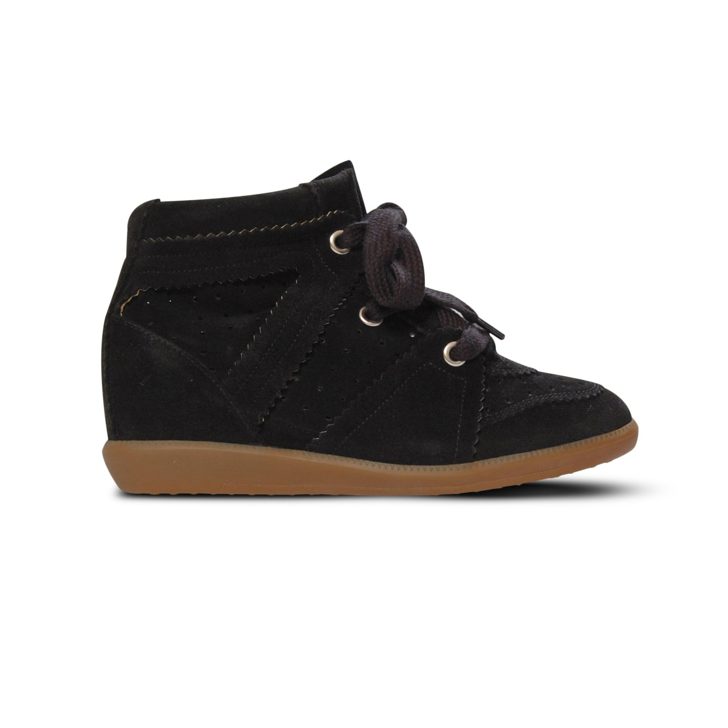 WMN Black Isabel Marant Bobby Trainers