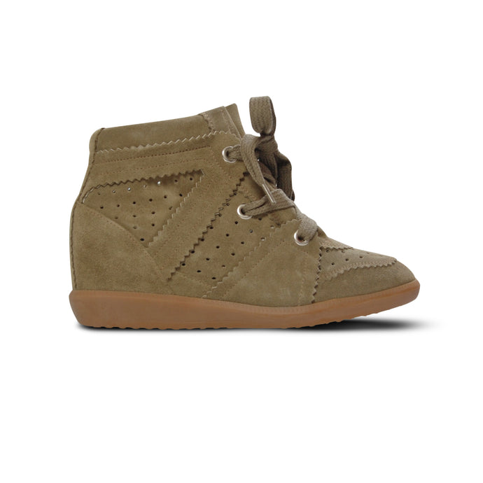 WMN Taupe Isabel Marant Bobby Trainers