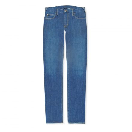 Mid Blue J45 Regular Light Patch Jeans