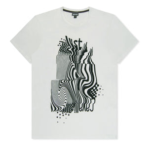 Off White Geo Wave T-Shirt