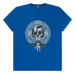 Blue Skull Guitar T-Shirt