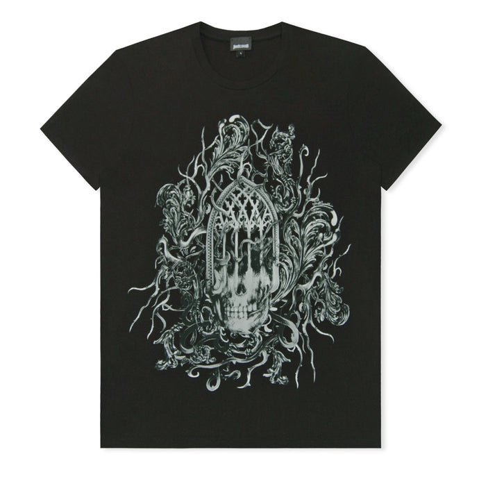 Black Skull And Thrones T-Shirt