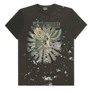 Black Rock Angel Studded T-Shirt