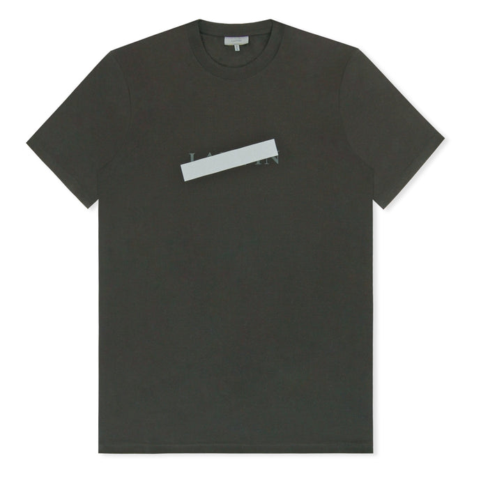 Black Defaced Logo T-Shirt