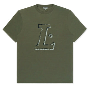 Green L Logo T-Shirt