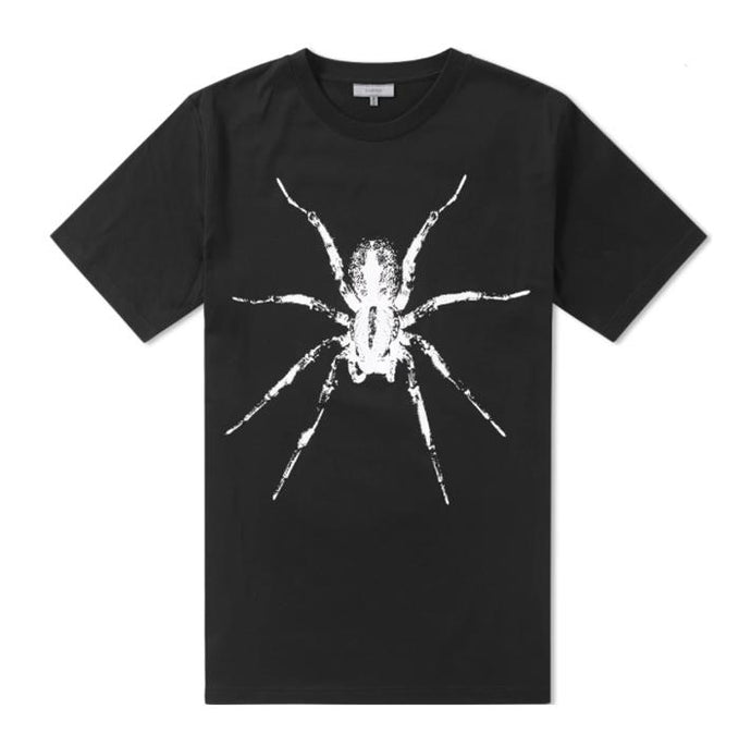 Black Lanvin Spider Print T-Shirt