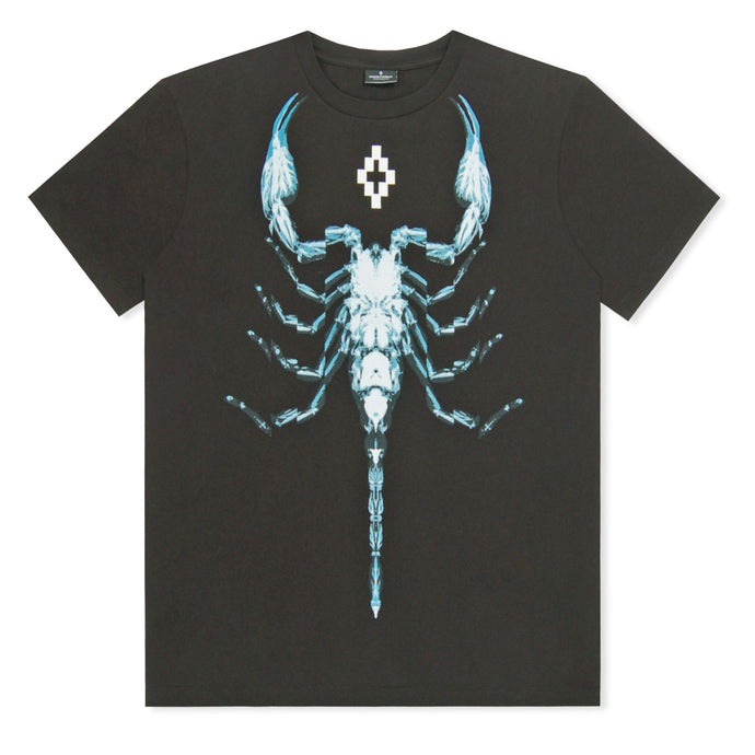 Black Scorpio Printed T-Shirt