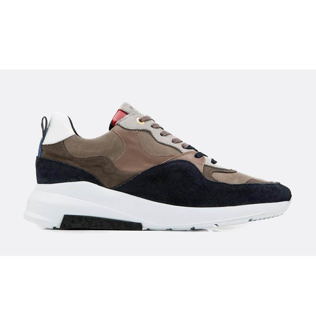 Navy Android Homme Malibu Suede Runners